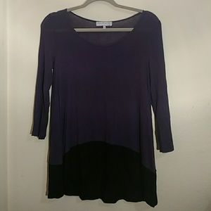 UO Purple and Black Top